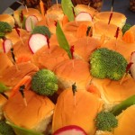 Mini Sliders & Vegetables