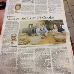 News Article of 29 Cooks