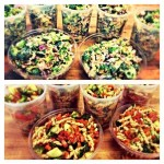 Broccoli Salad and Pasta Salad